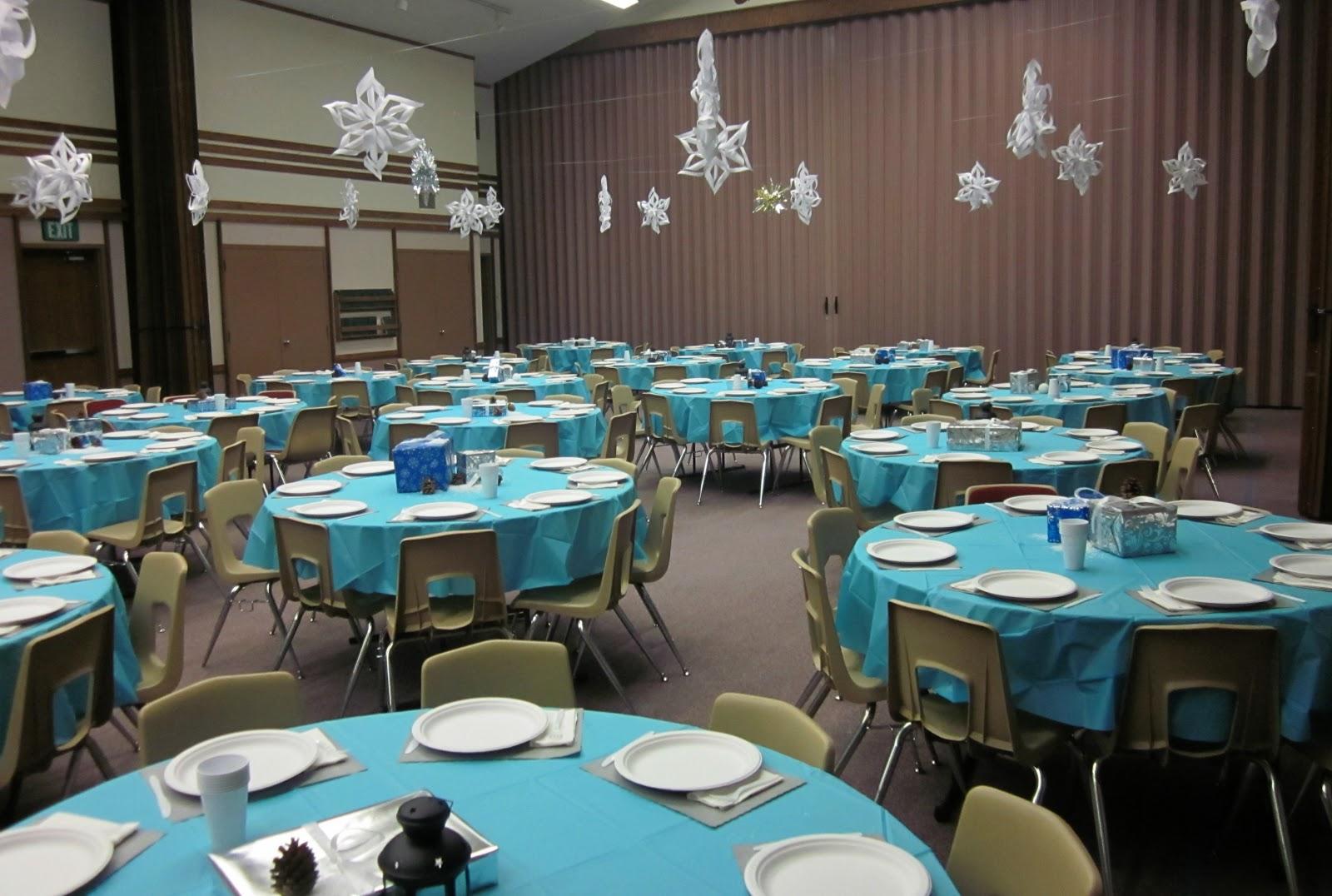 Our Polar Express Church Christmas Party