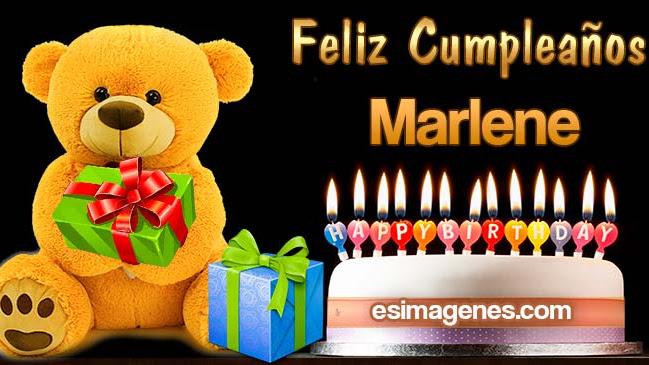 Feliz Cumpleaños Marlene