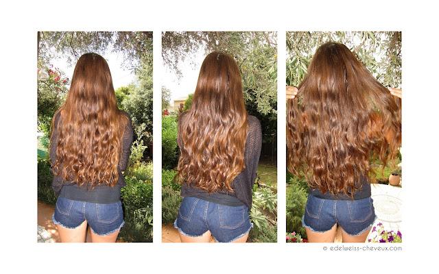 coupe maison cheveux longs brillance soin