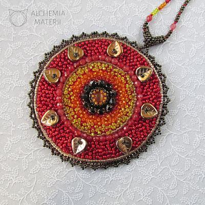 Mandala #1 - -Fire
