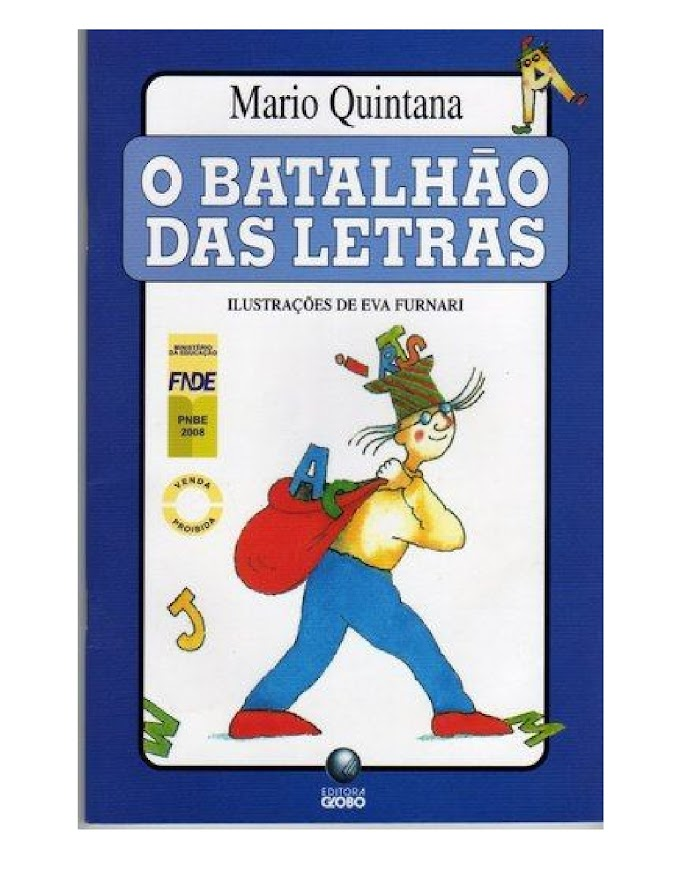LIVRO O BATALHÃO DAS LETRAS - MARIO QUINTANA.