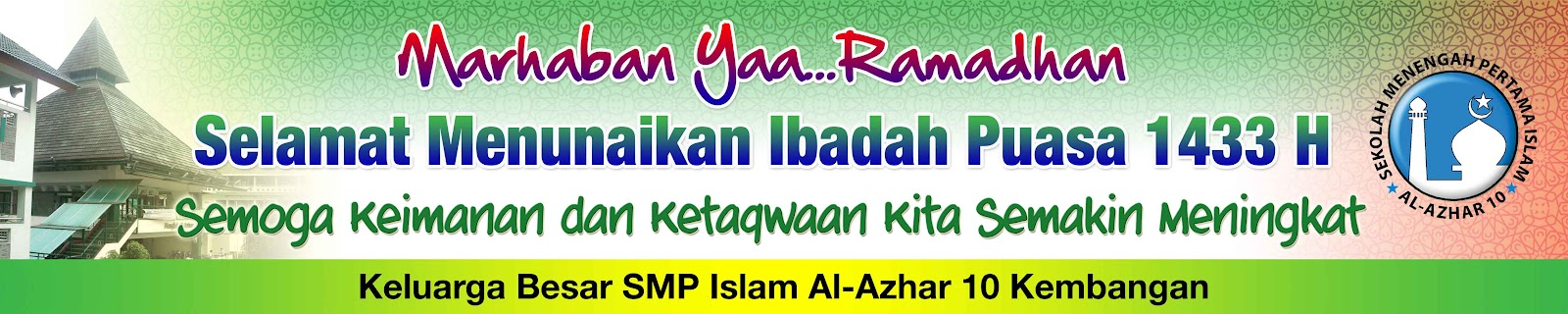 Contoh Banner Menyambut Ramadhan Downlllll