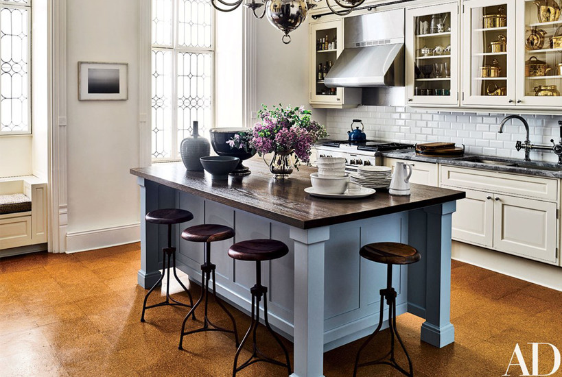 Jessica Chastain kitchen by Carrier and Company