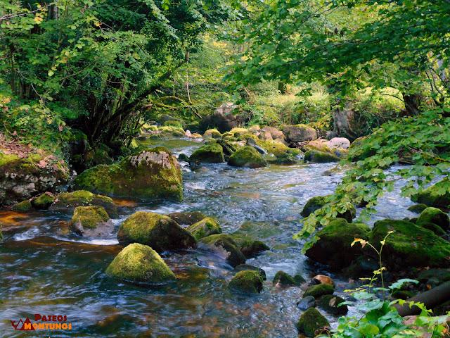 Desfiladero de Los Arrudos: Río Los Arrudos