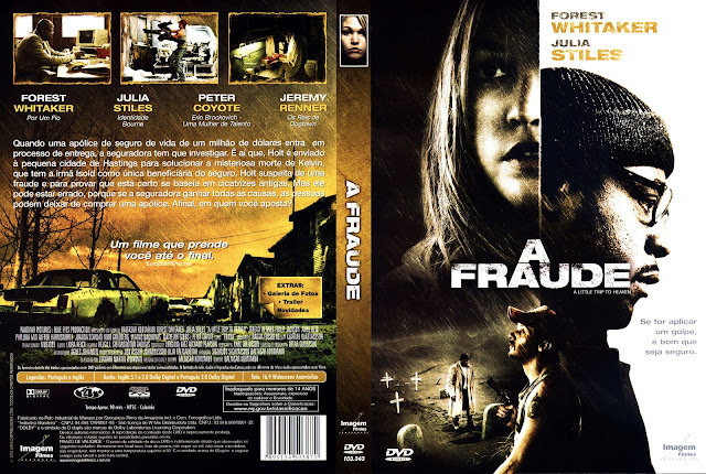 Capa DVD A Fraude