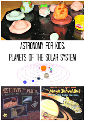 Hands On Astronomy for Kids: Solar System in Playdough