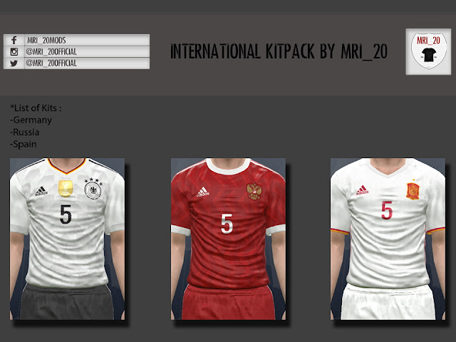 PES 2016/17 New International Kitpack by MRI_20