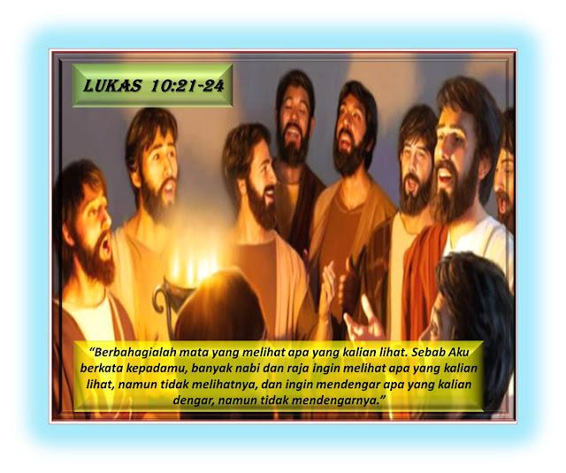 LUKAS 10:21-24