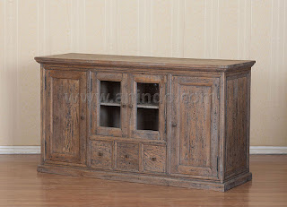 mango wood buffet 4 doors