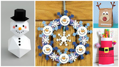 manualidades-adornos-regalos-navideños-papel