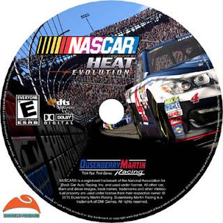 NASCAR Heat Evolution Disc Label