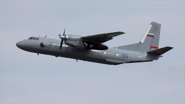 Rusia envía tres aviones militares a Siria ante amenazas de EEUU
