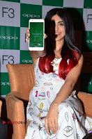 Bollywood Actress Adah Sharma Pos in White Printed Short Dress at OPPO F3 Plus Selfie Expert Mobile Launch .COM 0037.jpg