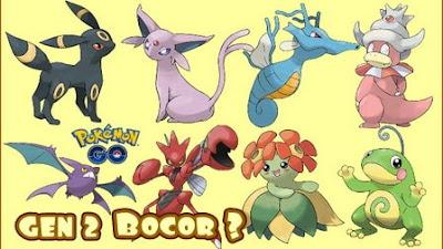 Tanggal Rilis Pokemon Go Generasi 2 Bocor