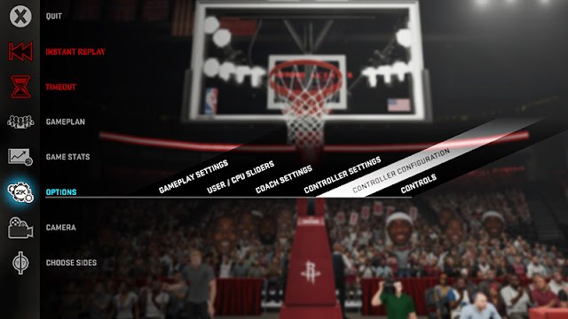 NBA 2K16 Keyboard Controls
