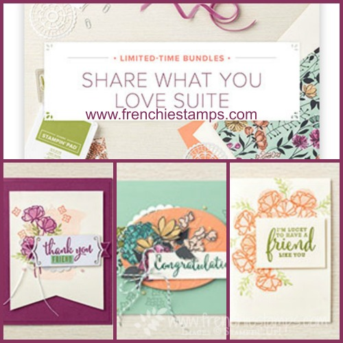 Share What You Love Early Release Sta\mpin'Up!, Frenchiiestamps,