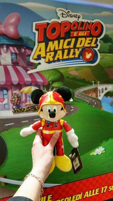 Nuovo Topolino e gli amici del rally