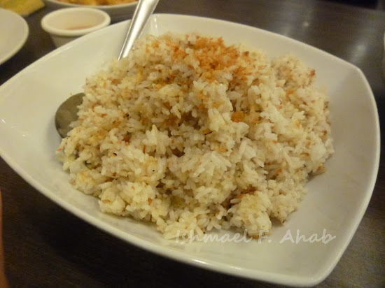 Garlic rice of Mann Hann