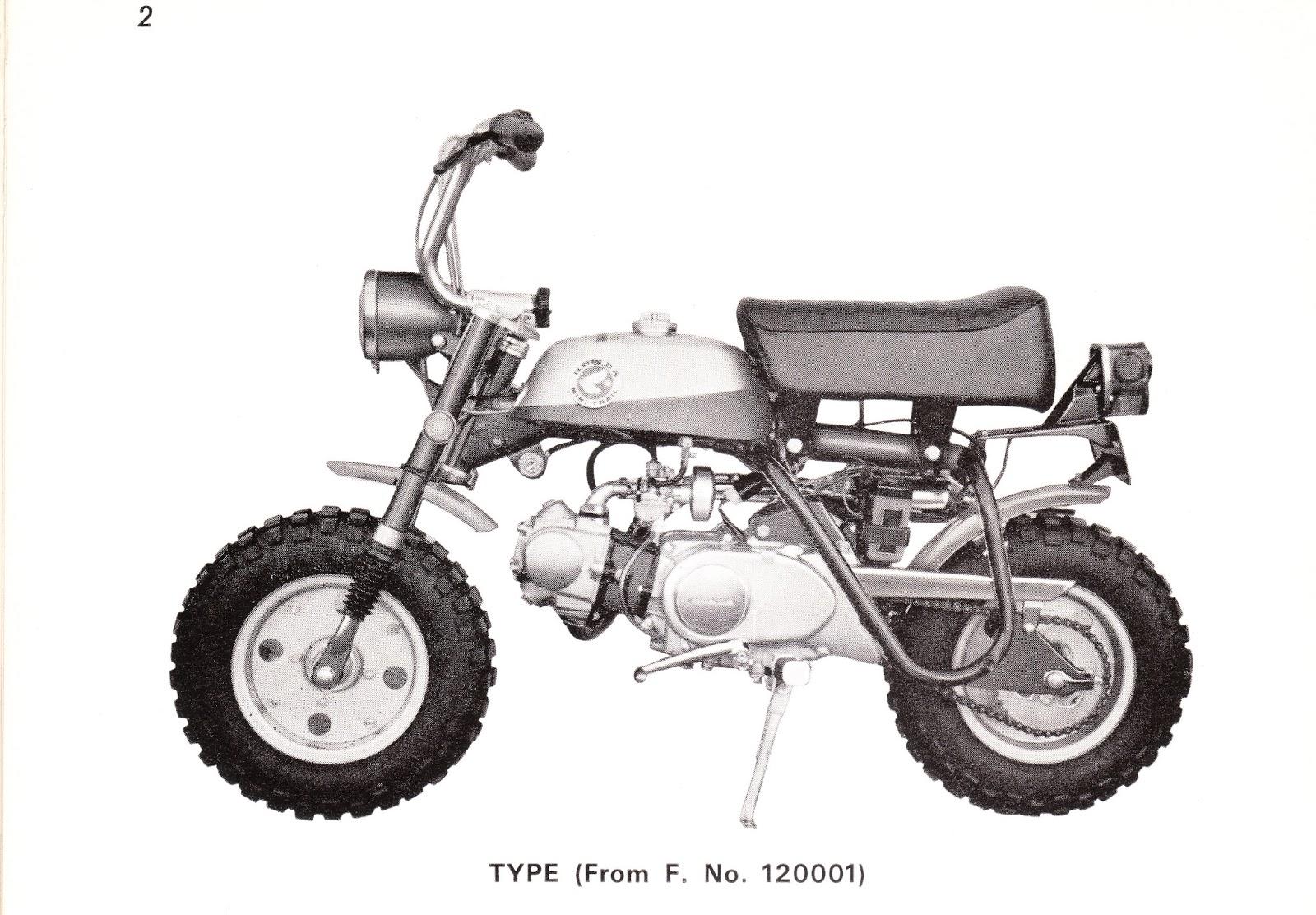 1971 Honda Z50 Wiring Diagram 3 Circle Venn Worksheet A Mini Trail Restoration Project Monkey