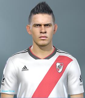 PES 2019 Faces Rafael Santos Borré by SeanFede