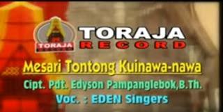 Download Lagu Mesari Tontong Kuinawa-nawa Eden Singers