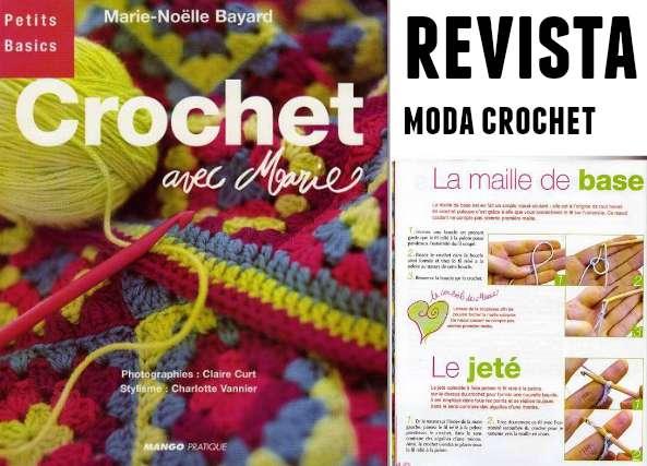 revistas crochet, patrones, instrucciones,