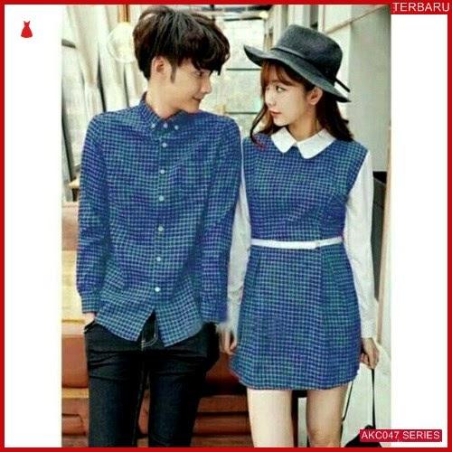 AKC047D52 Dress Couple Couple Anak 047D52 Dress Kemeja BMGShop
