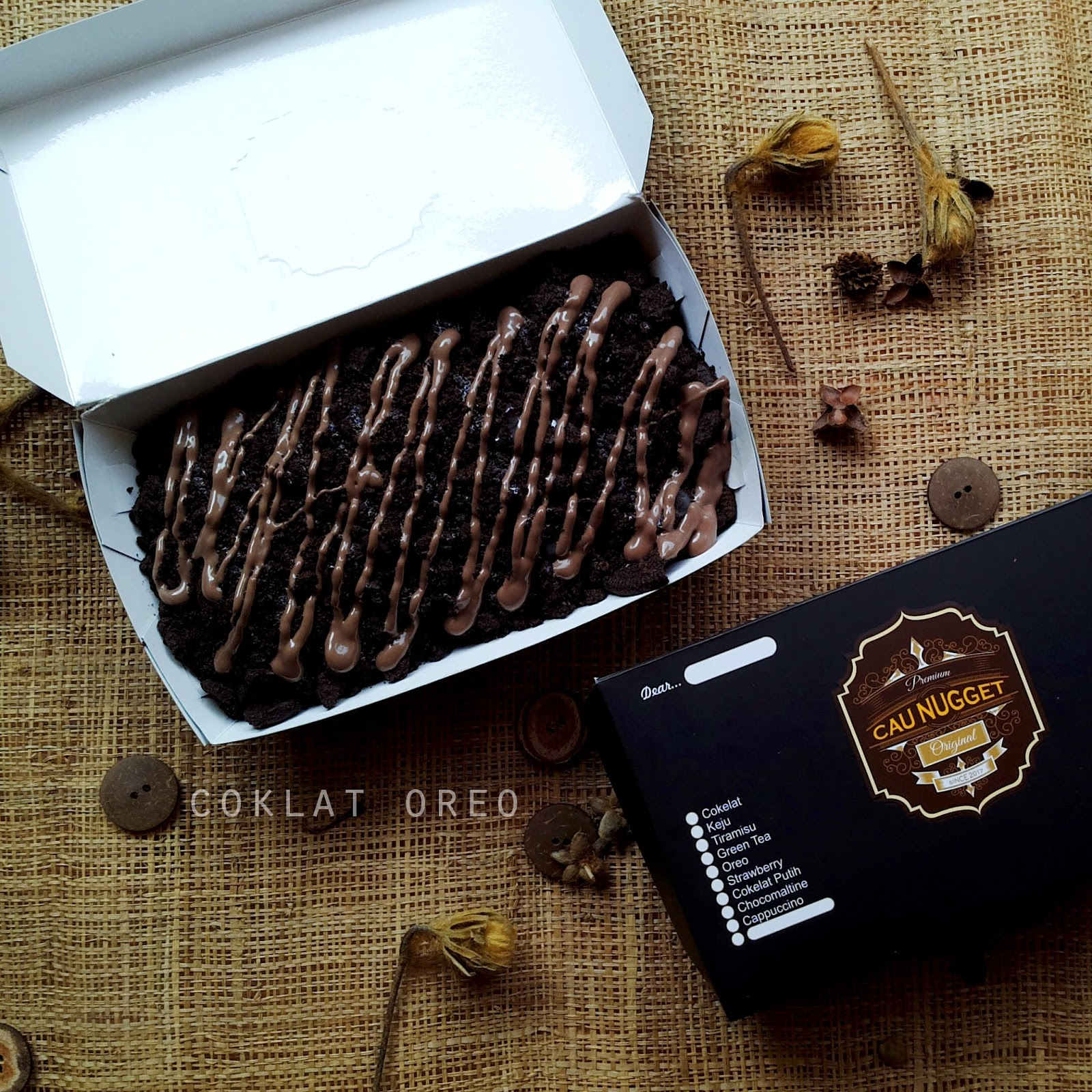 Cau Nugget Coklat Oreo - Cau Nugget
