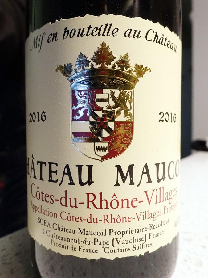 Château Maucoil 2016 (89 pts)