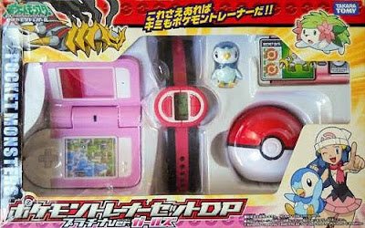 Piplup figure in Trainer set Platinum version Girls
