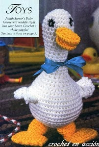 http://crochetenaccion.blogspot.com.es/2011/12/gonzo-el-ganzo-feliz.html