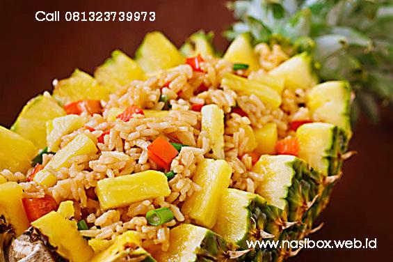 Resep nasi goreng nanas nasi box walini ciwidey