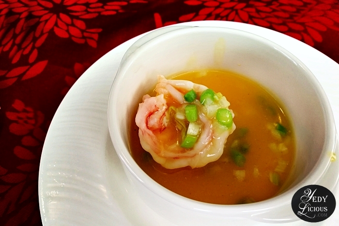 Sauteed Tiger Shrimp Ball in Supreme Chicken Stock, Lung Hin, Marco Polo Ortigas Manila: New & Classic Dishes, Exquisite Abalone, and Chinese Lunar New Year Celebration, Lung Hin Restaurant Review Marco Polo   Manila, Best Chinese Restaurant in Manila, Marco Polo Blog Review Website Rate Price Facebook Twitter Instagram YedyLicious Manila Food Blog