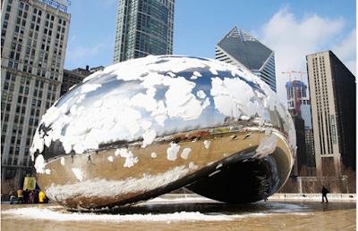 Không đi du lịch chicago khi trời lạnh