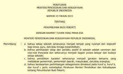 Perubahan peraturan pemerintah nomor 23 tahun 2010