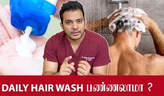 Frequent Hair Wash & Hair Loss | Dr. Sethu