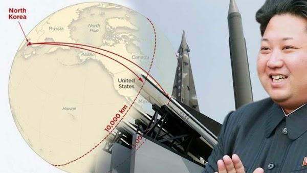 Si Norcorea atacara Estados Unidos, el alcance sería hasta el noreste de México