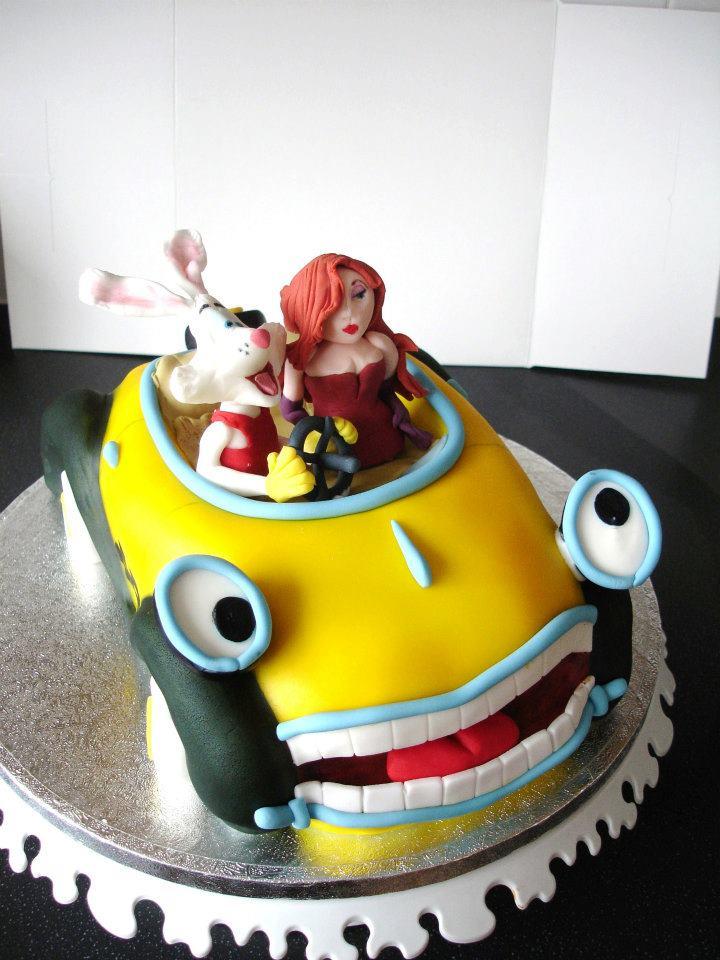 ImNotBadcom  A Jessica Rabbit Site Roger and Jessica Rabbit Cakes