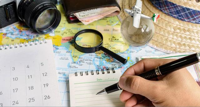 Rencana Perjalanan yang Detail