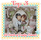 Top 3 Lil  Patch of Crafty Friends challenge nº75
