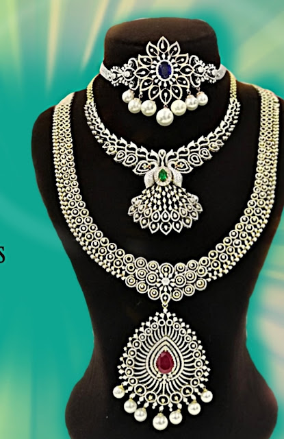 Latest Necklaces by Shankarlal Jewellers