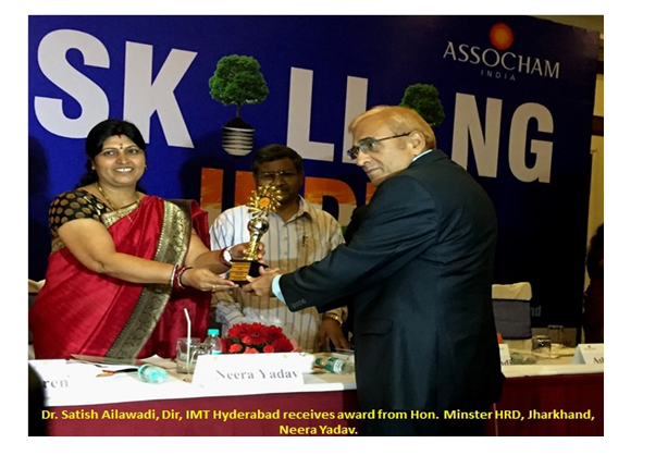 IMT Hyderabad awarded Best Upcoming B School