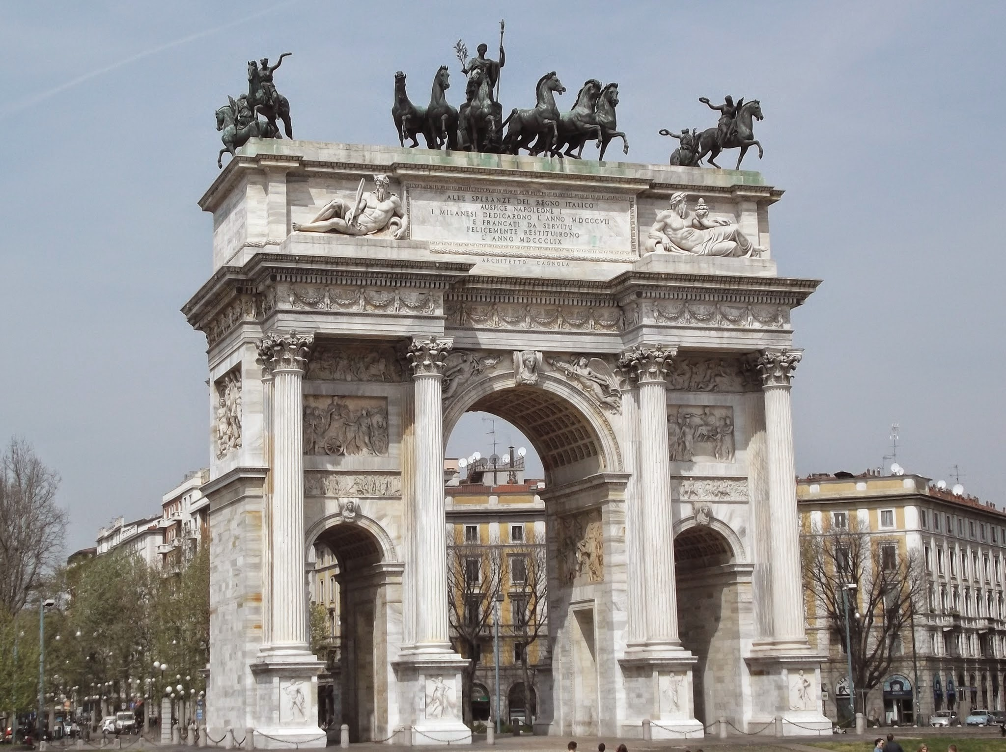 huge Marble Arch
