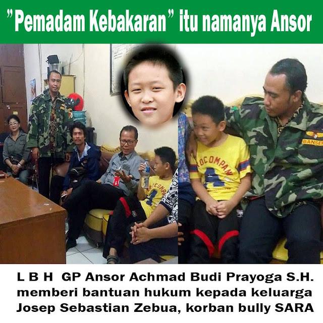 Pemadam Kebakaran Negeri ini Bernama GP Ansor