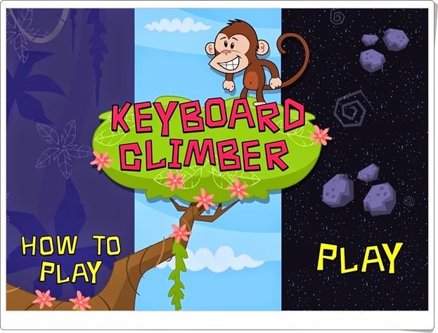 """""""Keyboard Climber"""" (Manejo del teclado en Educación Infantil)"""