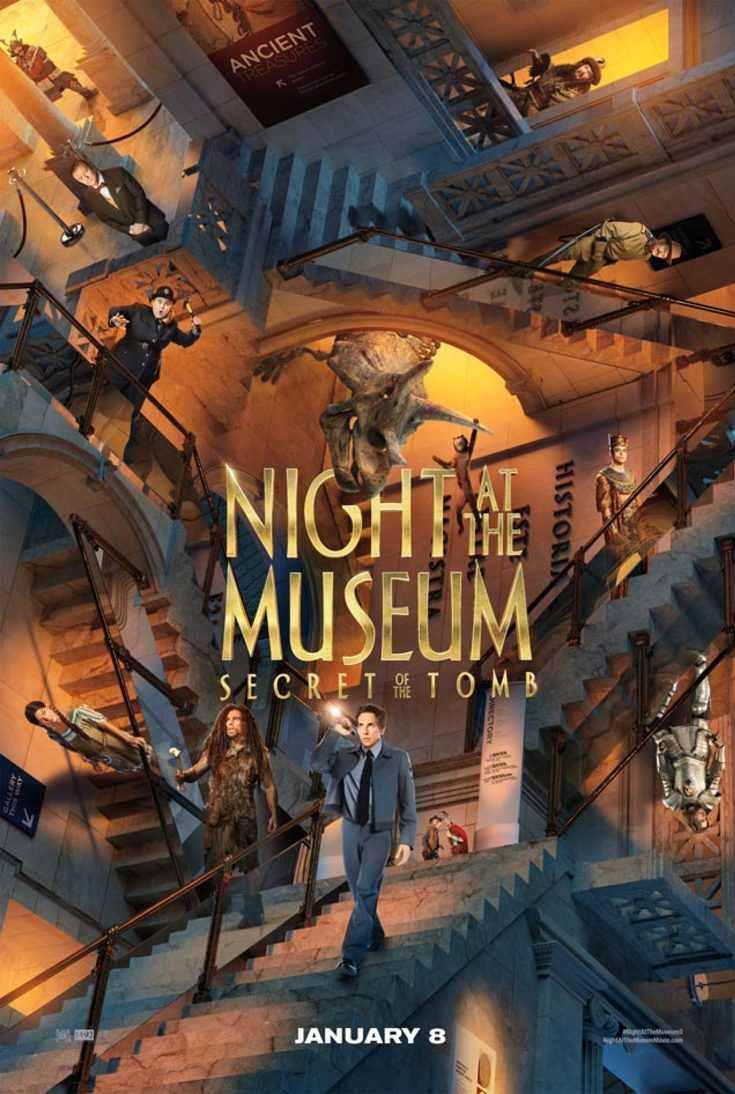 Nachts Im Museum Reihe