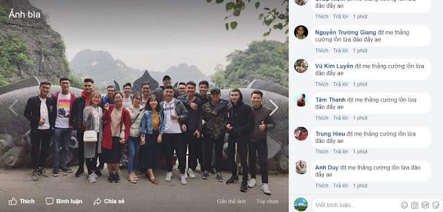 blogger nguyễn phú cường bị hacker tấn công hack bình luận nội dung xấu