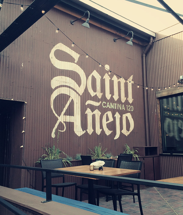 A review of Saint Anejo Mexican Restaurant in the Gulch, Nashville Tennessee.