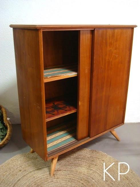 Aparador estilo danés en valencia. Tienda de muebles antiguos estilo vintage, escandinavo, daneses, nórdicos