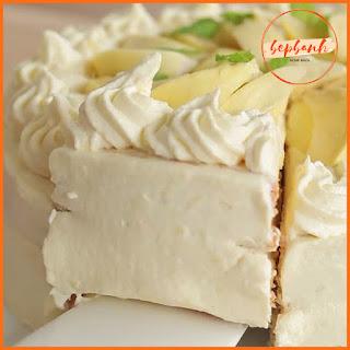 Tan chảy công thức làm bánh kem sầu riêng béo mềm 3